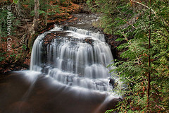 rock river falls (postpurchase) Tags: waterfall michigan upperpeninsula tilt tse24mm rockriverfalls