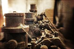 Admission (Ysalis.net) Tags: urban texture abandoned lensbaby decay engine rusty textures abandon urbanexploration 5d exploration rouille urbex abandonné urbanurbex