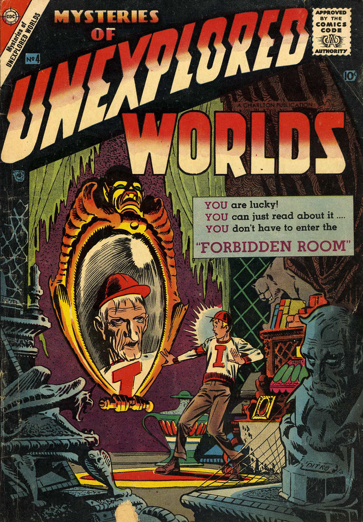 Mysteries of Unexplored Worlds #4 (Charlton, 1957)