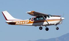 Cessna 205 N244SP (ChrisK48) Tags: airplane aircraft 1963 dvt phoenixaz cessna210 kdvt phoenixdeervalleyairport cessna2105205 n244sp cessna205