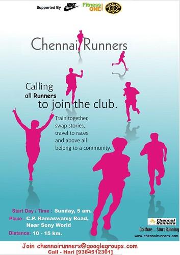 Chennai Runners - Poster