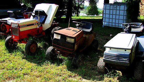 """She Thinks My [Lawn] Tractor's Sexy"""