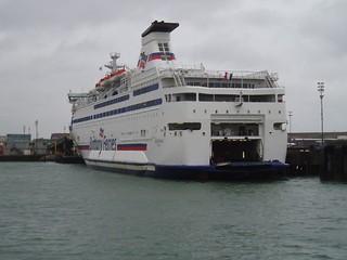 Cross channel ferry