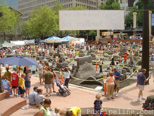 2007 Sand in the City, Pioneer Square, Portland, Oregon