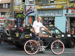 Holy bicycles Batman, javadoug is faster than the batmobile!