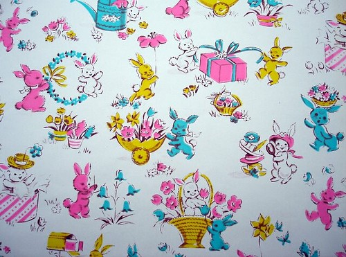 easter wrapping paper
