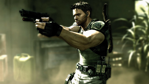 Resident Evil 5 Chris Redfield