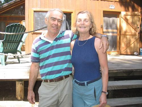 The Thomsons at Lake Pogamasing