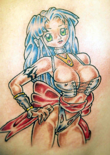 manga Tattoo by The Tattoo Studio. Tattooed at The Tattoo Studio, Crayford