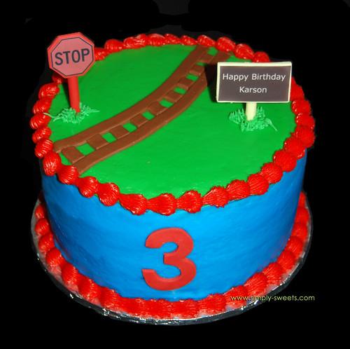 round train cake