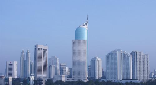 jakarta skyline por AditChandra.