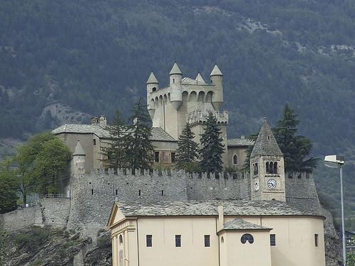 Castillo del Valle d'Aosta