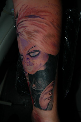 Bride of Chucky in progress3