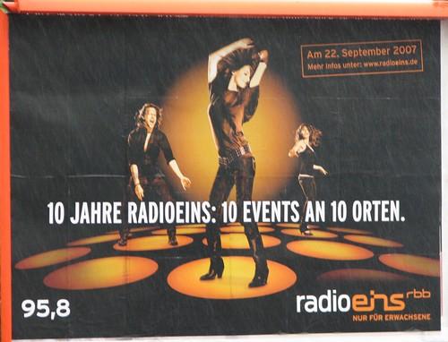Radio 1 - Plakat
