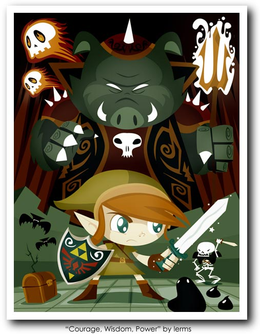 Legend of Zelda (Link) Art25