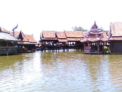 floating market (samiara) Tags: architecture thailand samutprakan ancientcity