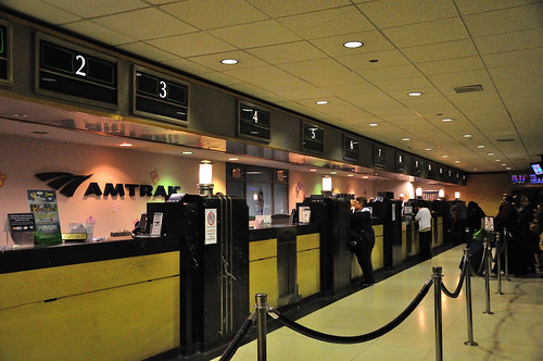 Amtrak Ticket Windows at Chicago Union Station