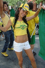 Beauty And A Smile! (austinhk) Tags: world africa brazil canada hot sexy cup girl brasil southafrica photo dance football bresil montral image quebec montreal fifa flag soccer south crowd watching picture babe images flags wm menschen tournament wc qubec tanktop denim shorts vs fans cheer worldcup brunette monde coupe crowds fever versus 2010 cotedivoire ivorycoast tubetop jeanshorts coupedumonde tightshorts copadelmundo austinhk austink worldcupfans copamundo coupdumonde fifaworldcup2010 worldcup2010 coupedumonde2010 worldcup2010insouthafrica