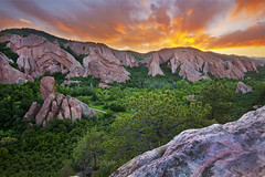 Roxborough State Park - Littleton, Colorado (Lightvision []) Tags: colorado co littleton roxborough state park red rock formation lyons overlook evening sunset sky clouds trees nature landscape canonxsi sigma1020mm sand stone thepowerofnow tourism travel beautiful urban america environment lightvision vacation tranquil spring sunrise water mountain summer scenic denver conservation hiking hills wilderness usa light dawn bright outdoor