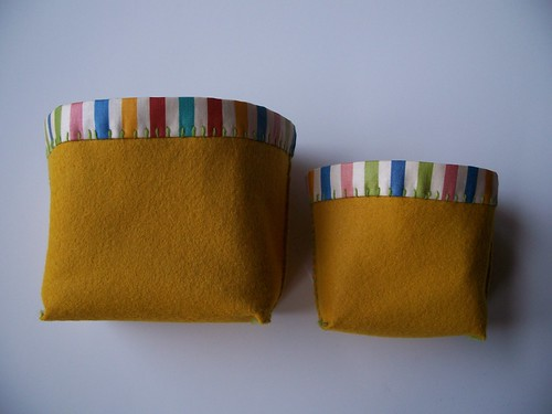 set of two - yellow