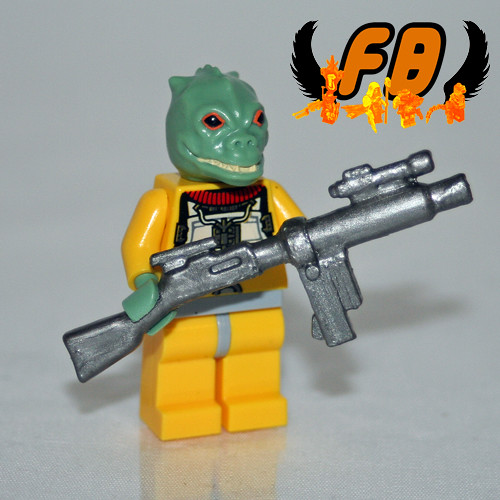 Bossk - Upgraded with Modified BrickArms