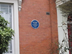 Photo of Constance C. W. Naden blue plaque