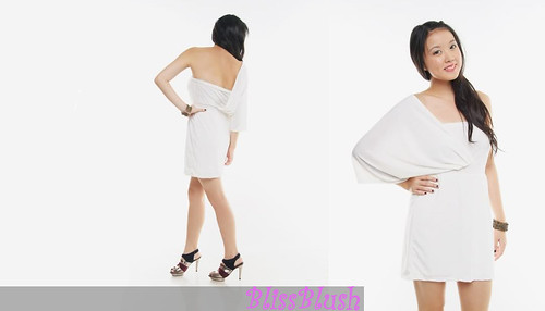 Nasty Girl Inspired White Toga