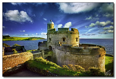 St Mawes Castle, Cornwall (rjt208) Tags: bridge sea england lighthouse southwest castle heritage history coast cornwall king fort military historic coastline fortification falmouth defensive henryviii stmawes cornish kernow englishheritage pendennis henrician rjt208