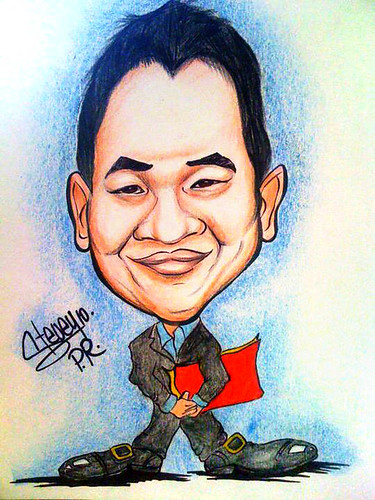 My caricature by Stevey Vega Rivera