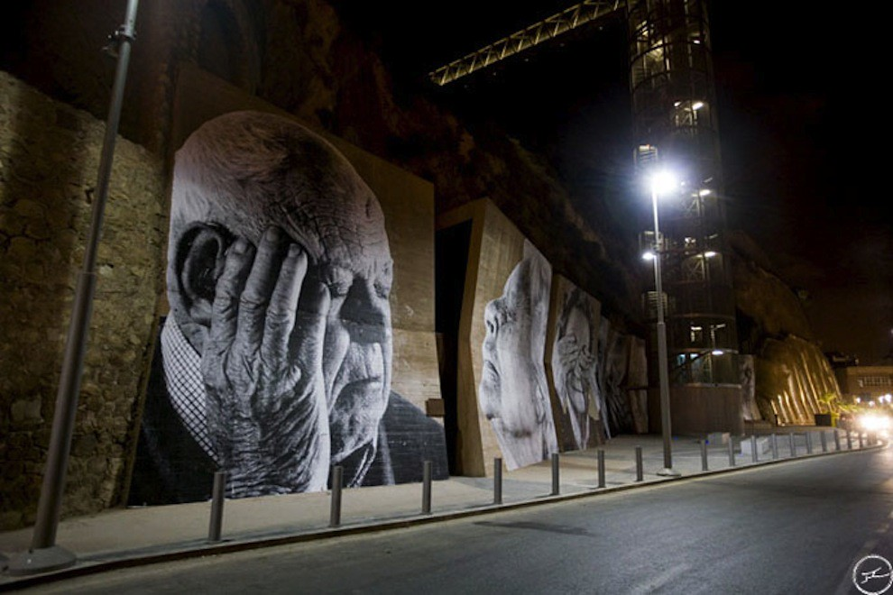 5127624970 908587c70c b Artist JR   Street art raising questions across the world [24 Pics]