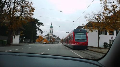 Entering Solothurn - Baselstrasse