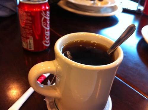 竹北喜樂餐廳_熱紅茶
