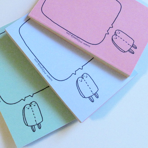 Popsicle Mini Notepad