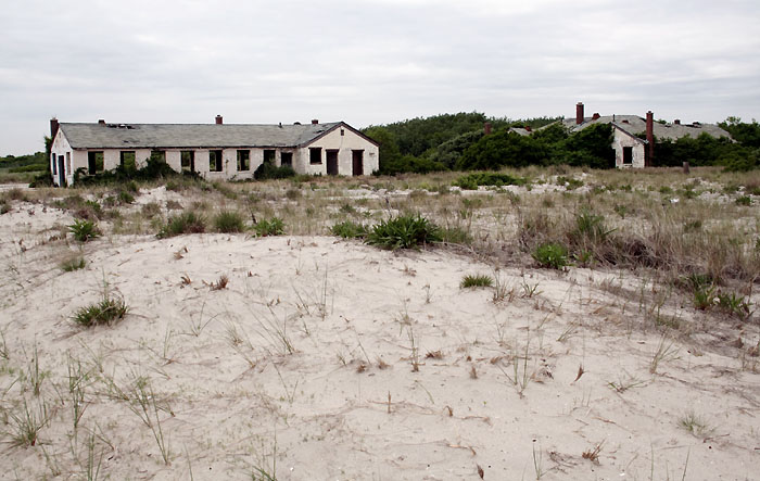 Abandoned in Fort Tilden