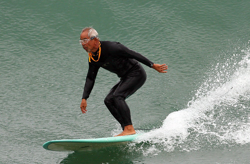 80 year old surfer dude