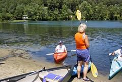 Michael awaits permission to come ashore (ct_kayak) Tags: kayak acm kleinert waramaug liquori pietrobono