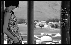 I Couldn't Forget You (mngl) Tags: blackandwhite bw nikon mongolia d200 mongoliangirl ger nikond200 agirl mngl edorj erhemchuhal erkhemchukhal erhemchuhaldorj erkhemcukhaldorj