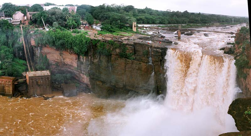 The waterfall of Gokak