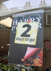 Harry Potter and the Deathly Hallows - 2 days to go