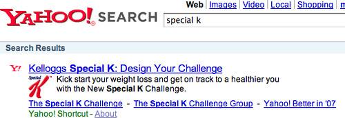 Kelloggs Special K Shortcut