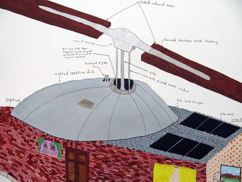 DIY Helicopter (detail)