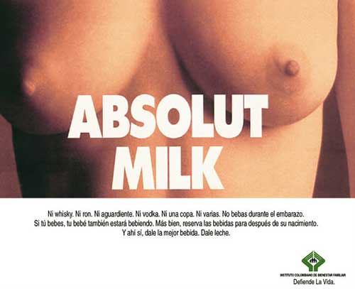 Absolut milk