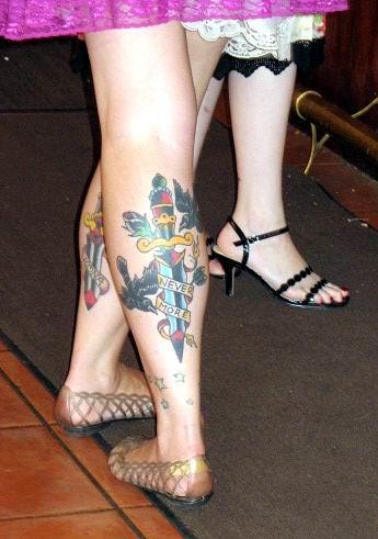 Leg Tattos