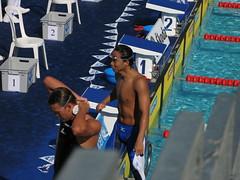 佐野秀匡選手 男子200mバタフライ予選3位通過でした