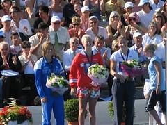 女子400m自由形 入賞者