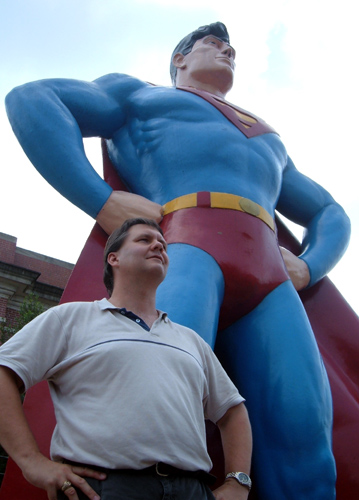 SupermanStatue