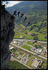 Do not forget to say goodbye (Laurent Filoche) Tags: france nikon extreme basejump instantfave pierrebrosseau bonzography magland bratanesque outdoorportfolio