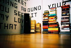 who needs a book self (lomokev) Tags: wood berlin typography book design graphicdesign lomo lca xpro lomography crossprocessed xprocess madera floor low books lomolca speaker type agfa holz jessops100asaslidefilm agfaprecisa hifi lomograph samo agfaprecisa100 cruzando precisa ratseyeview jessopsslidefilm file:name=070727lomolcaplus31  posted:to=tumblr roll:name=070727lomolcaplus