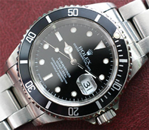 rolex hand movement