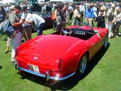 1963 Ferrari 250 GT SWB Spyder California at the Pebble Beach Concours d' Elegance 2007 (ikeya 14•2•1) Tags: california beach d ferrari spyder pebble gt concours 250 2007 1963 elegance swb pebblebeachconcoursdelegance 1963ferrari250gtswbspydercalifornia